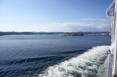 Ankunft in Kristiansand