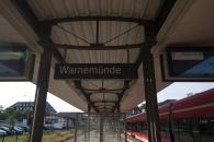 Ankunft Warnemünde Bahnhof