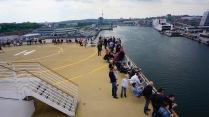 Ausfahrt aus Kiel