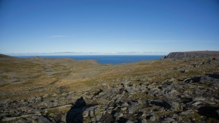 Rechts das Nordkapp
